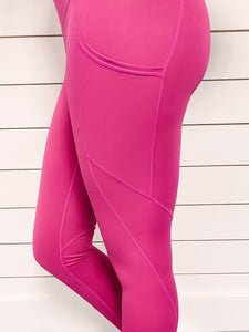 Hustle Athleisure Legging - Pink