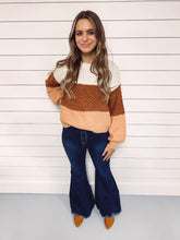 Load image into Gallery viewer, Alisha Color Block Sweater