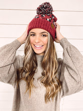 Load image into Gallery viewer, Natalie Leopard Print Beanie