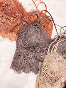 Demi Lace Padded Bralette