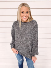 Load image into Gallery viewer, Carrie Textured Sweater - Grey