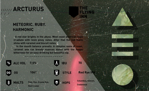 Arcturus 440ml/The Flying inn