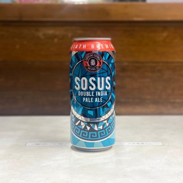 Sosus DIPA 473ml/Toppling goliath