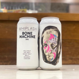 Bone machine IPA 440ml/Whiplash