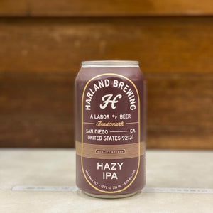 Hazy IPA 355ml/Harland