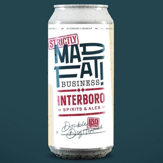 Mad fat strictly 473ml/Interboro