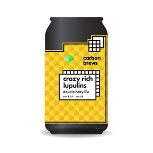 Crazy rich lupulin 330ml/Carbon brews