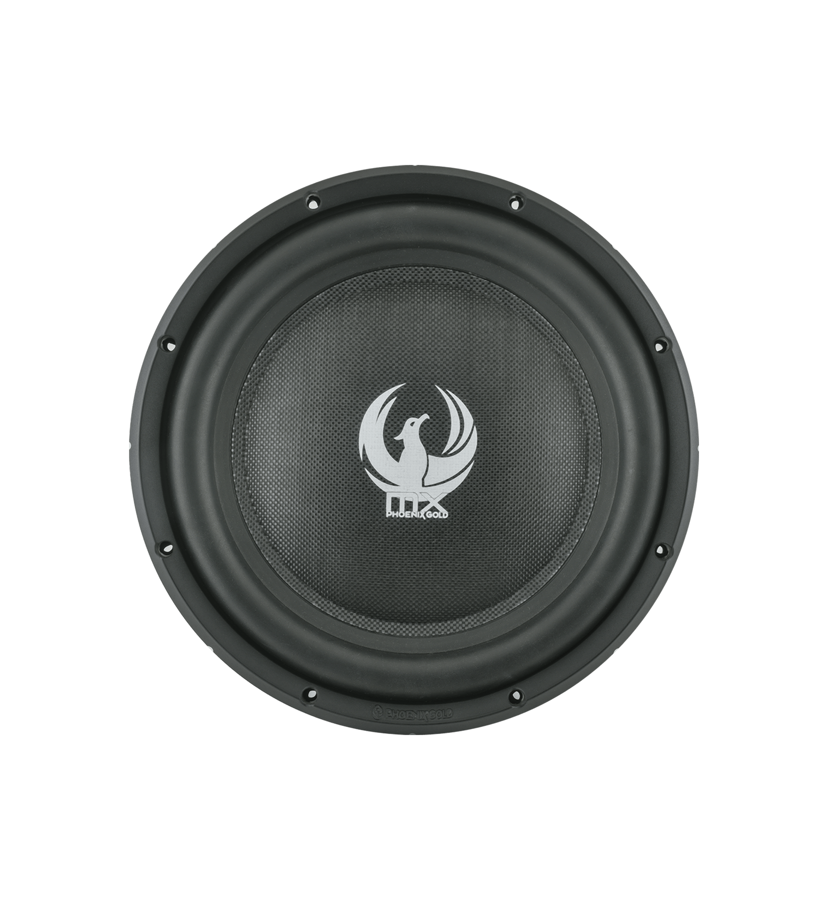 "MX 10"" Dual 2-Ohm 300W Slim Subwoofer"