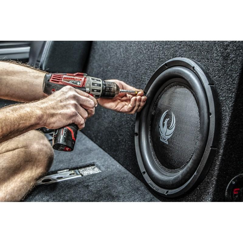 "MX 12"" Dual 4-Ohm 300W Slim Subwoofer"