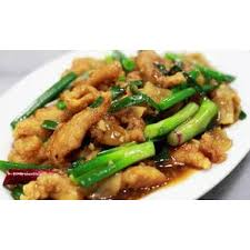 Main - Chicken With Spring Onion & Ginger