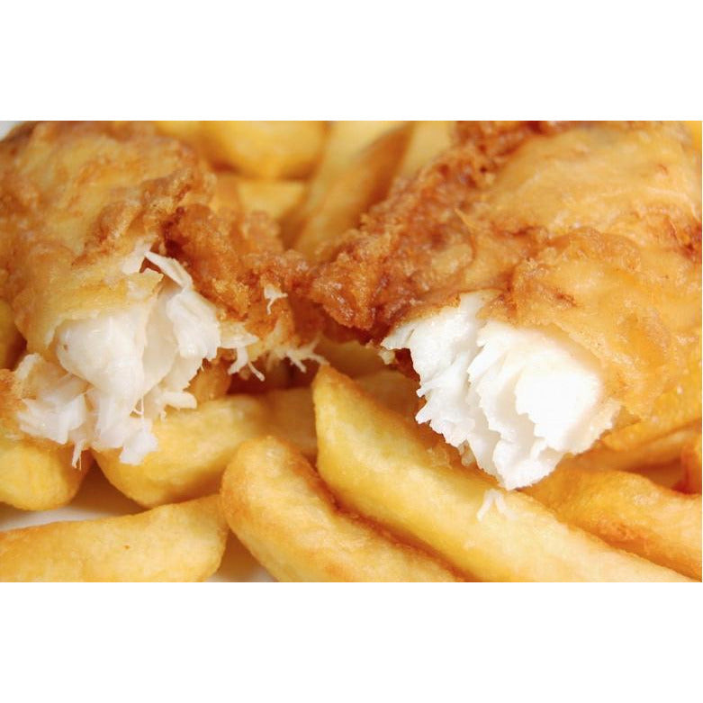 Beer Battered Cod & Chips