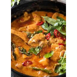 Main - Red Curry Chicken 🌶