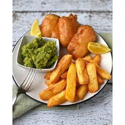 "Vegetarian ""Fish"" & Chips"