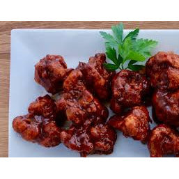 Crispy BBQ Cauliflower Wings