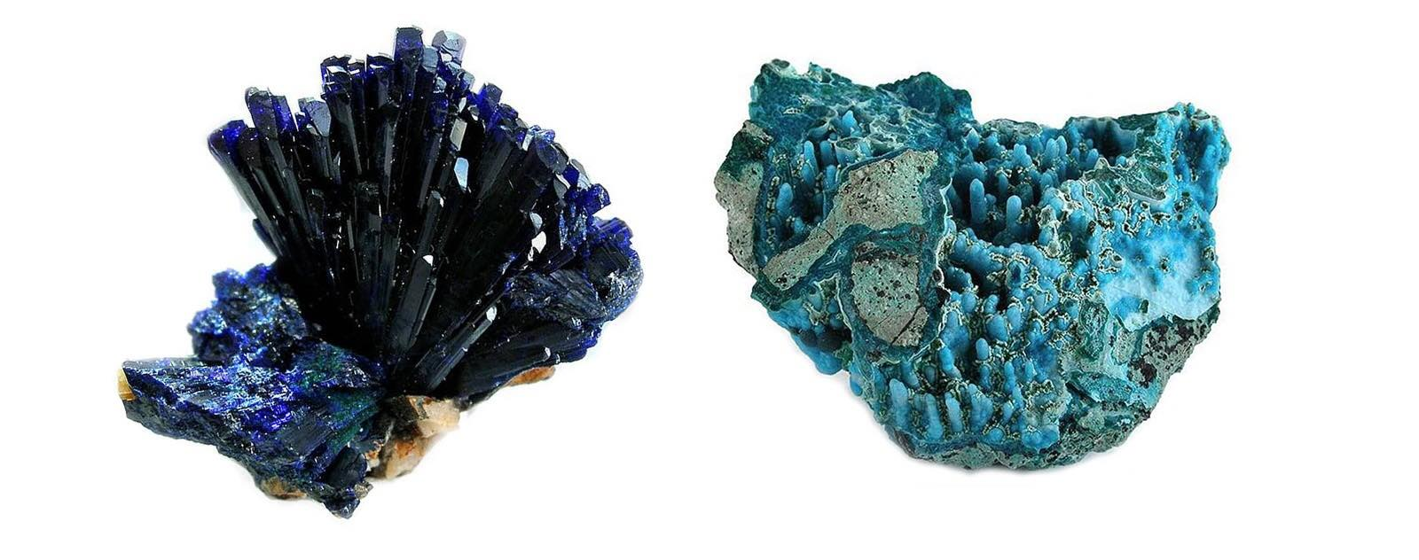 azurite chysocolle