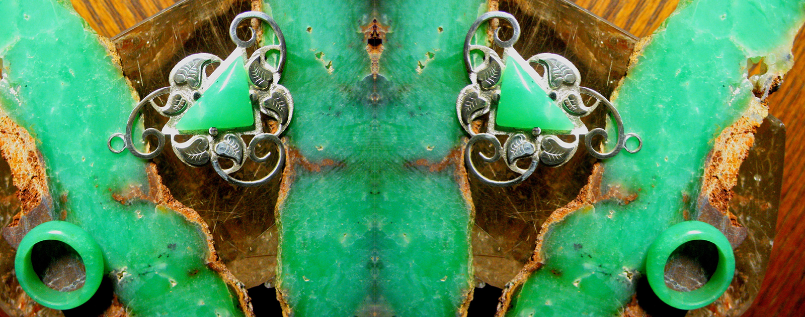 chrysoprase jewerly