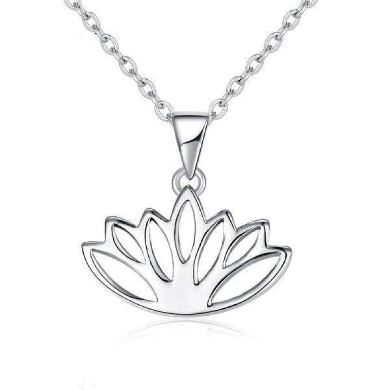 Collier Fleur de Lotus Karma Argent 925 - Royal Lotus