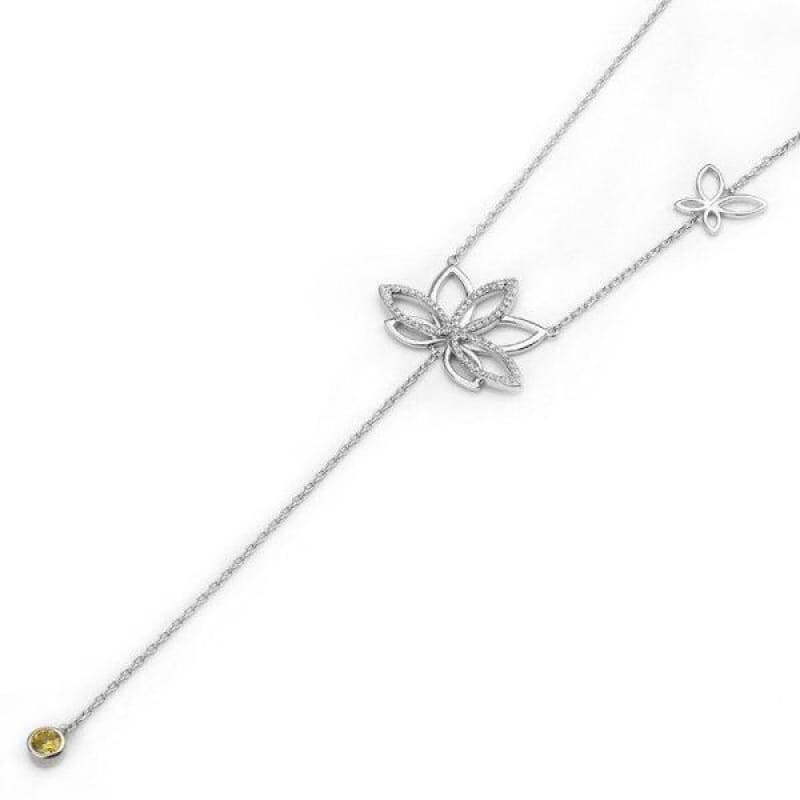 Collier Fleur de Lotus Argent 925 Boheme - Royal Lotus