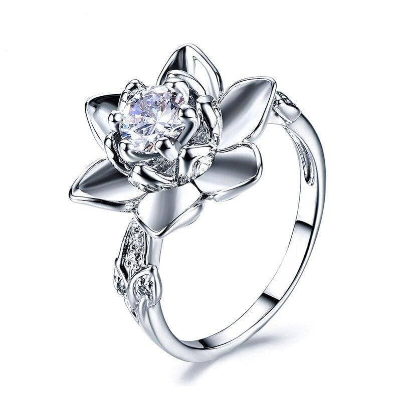 Bague Fleur De Lotus - Royal Lotus