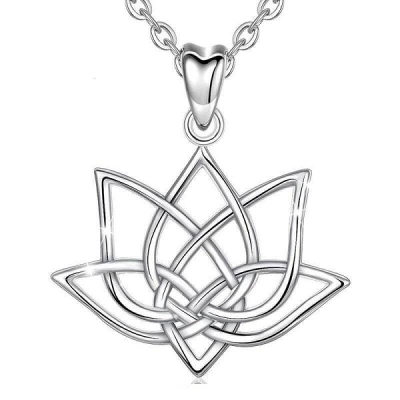 Collier Fleur de Lotus Argent 925 - Royal Lotus
