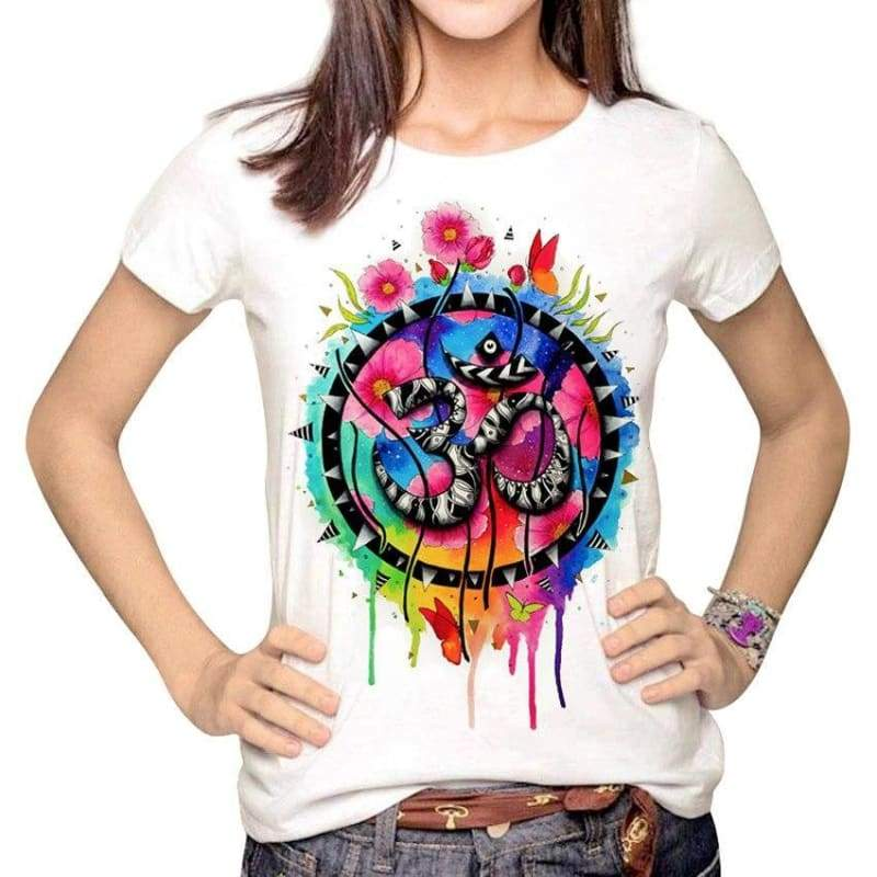 T-Shirt Fleur De Lotus OM̐ Multiple Couleur