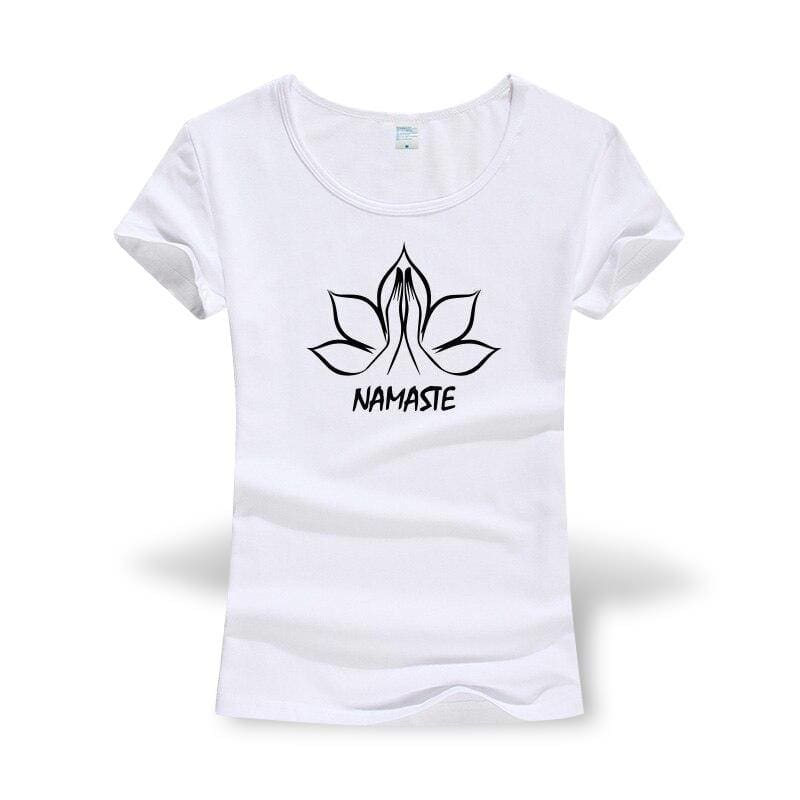 T-Shirt Fleur De Lotus Namaste Zénitude - Royal Lotus