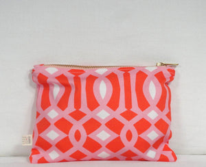 Orange Sherbi Essentials Bag