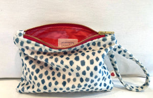 Power Punch Velvet Wristlet