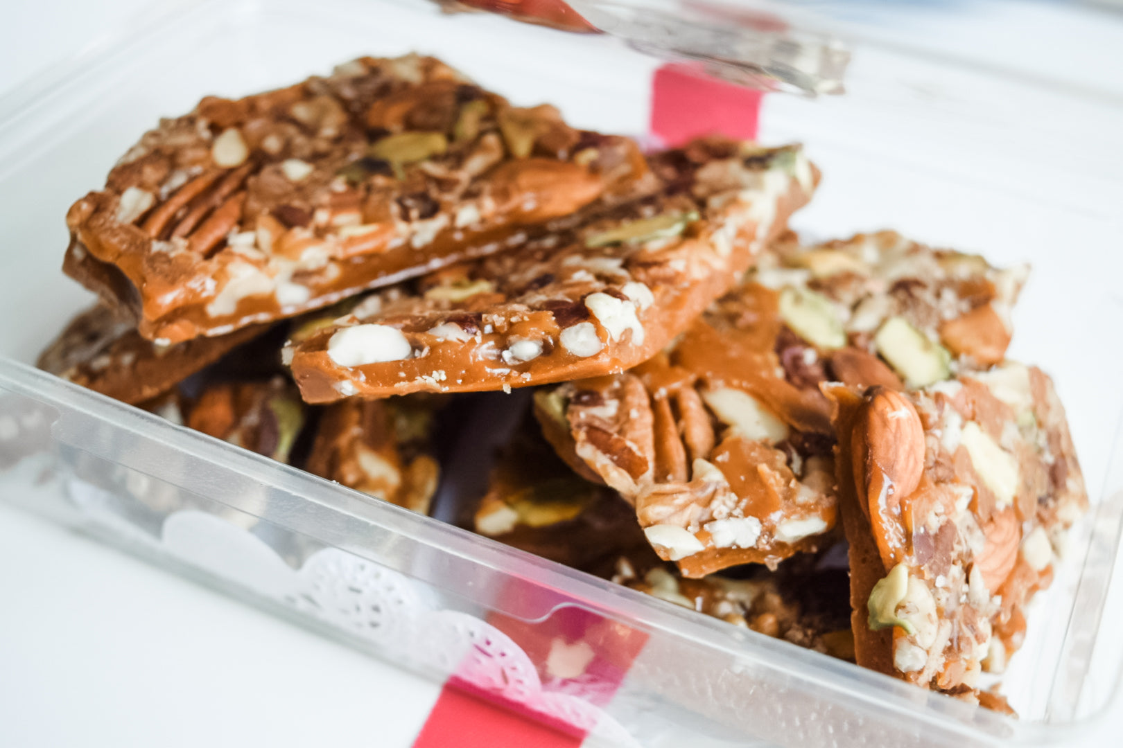 Texas Spiced Nut Brittle Large