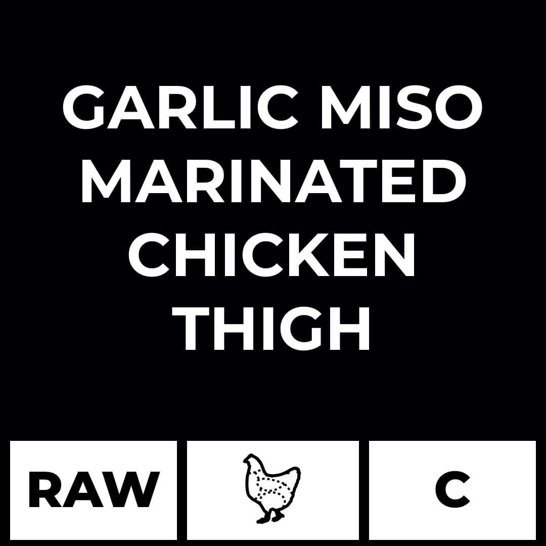 Artisan Meats food delivery in Delhi, NCR, Gurgaon, Noida, India + Garlic Miso Marinated Chicken Thigh (Boneless)