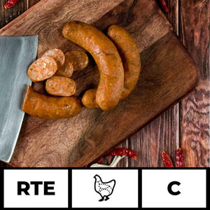 Artisan Meats food delivery in Delhi, NCR, Gurgaon, Noida, India + Peri Peri Smoked Chicken Sausage