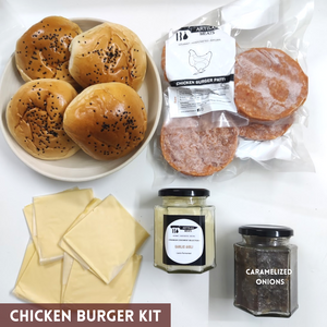 Chicken Burger Kit- 4 burgers