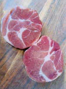 Coppa Steak - Boneless from Pork Neck