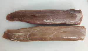Belgian Pork Tenderloin. Single piece. Apx 200 gms