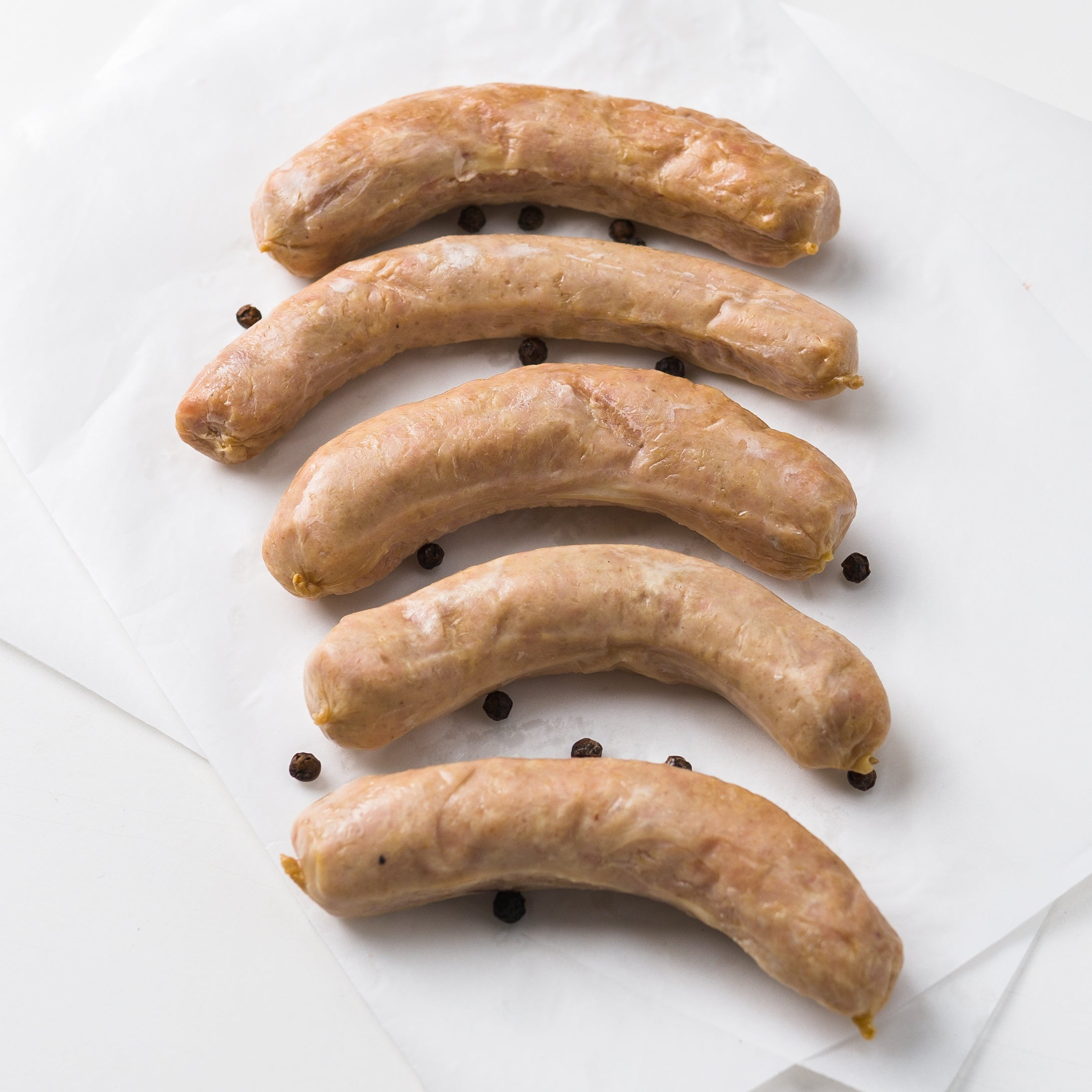 Black Pepper Garlic Smoked Pork Sausage