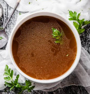 Lamb Bone Broth- thick/nutrient rich