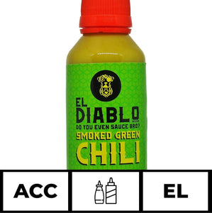 El Diablo Super Smoked Green Chilli Sauce
