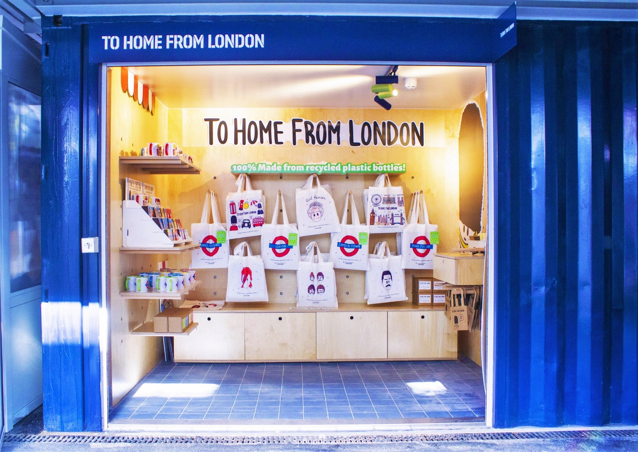 To Home From London Eco Store - Buck Street Market Unit 1.22