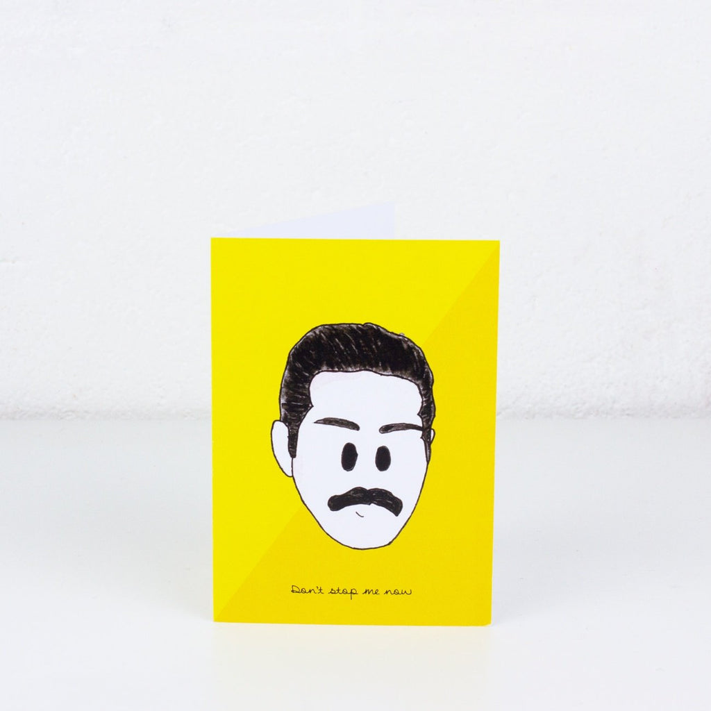 Freddie Mercury Greeting Card - To Home From London