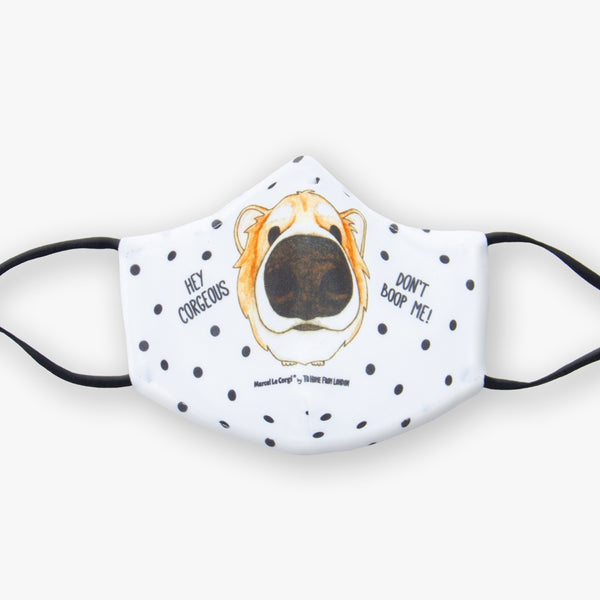 Le Corgi Face Mask | PRE-ORDER - To Home From London