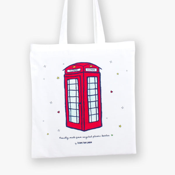 Telephone Eco Bag - To Home From London
