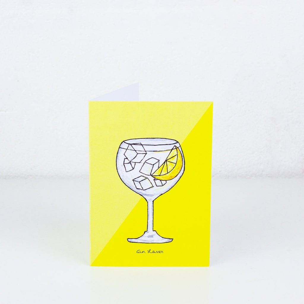 Gin and Tonic Greeting Card