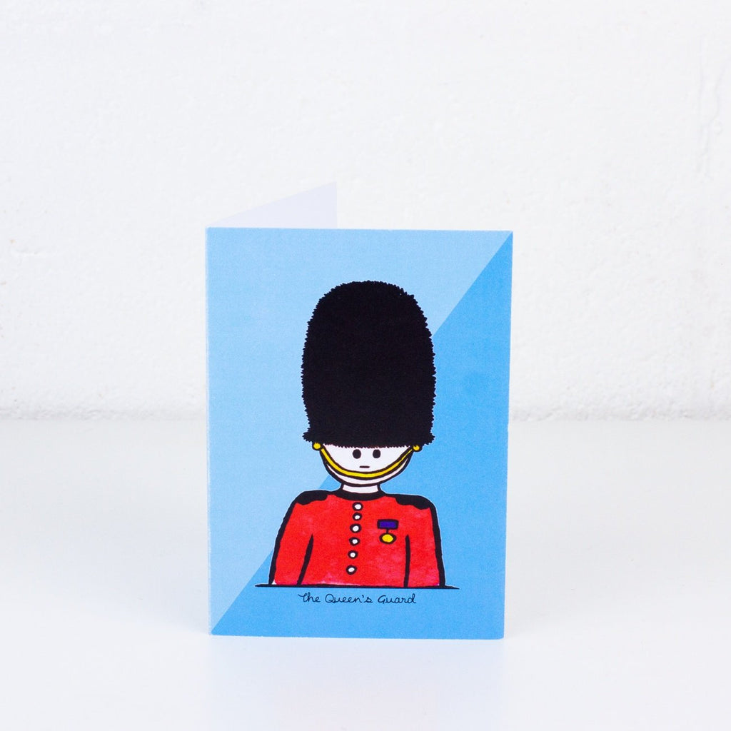 Queen's Guard Greeting Card