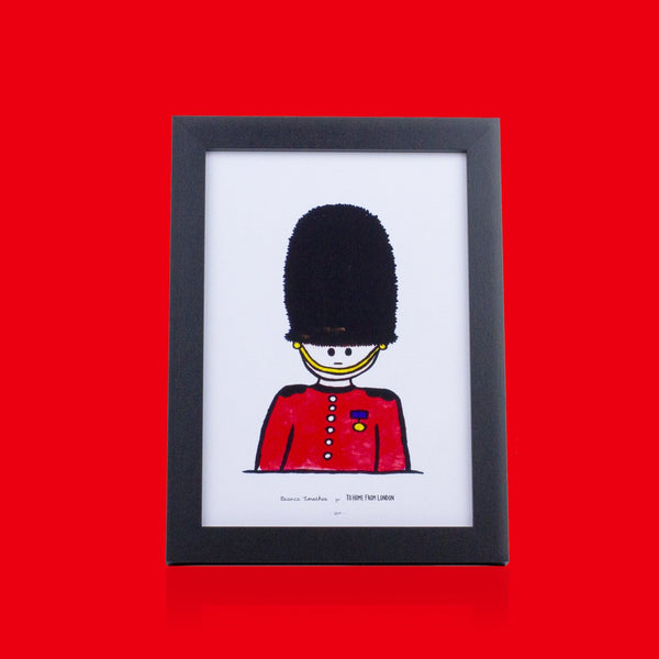 Queen's Guard Print - To Home From London