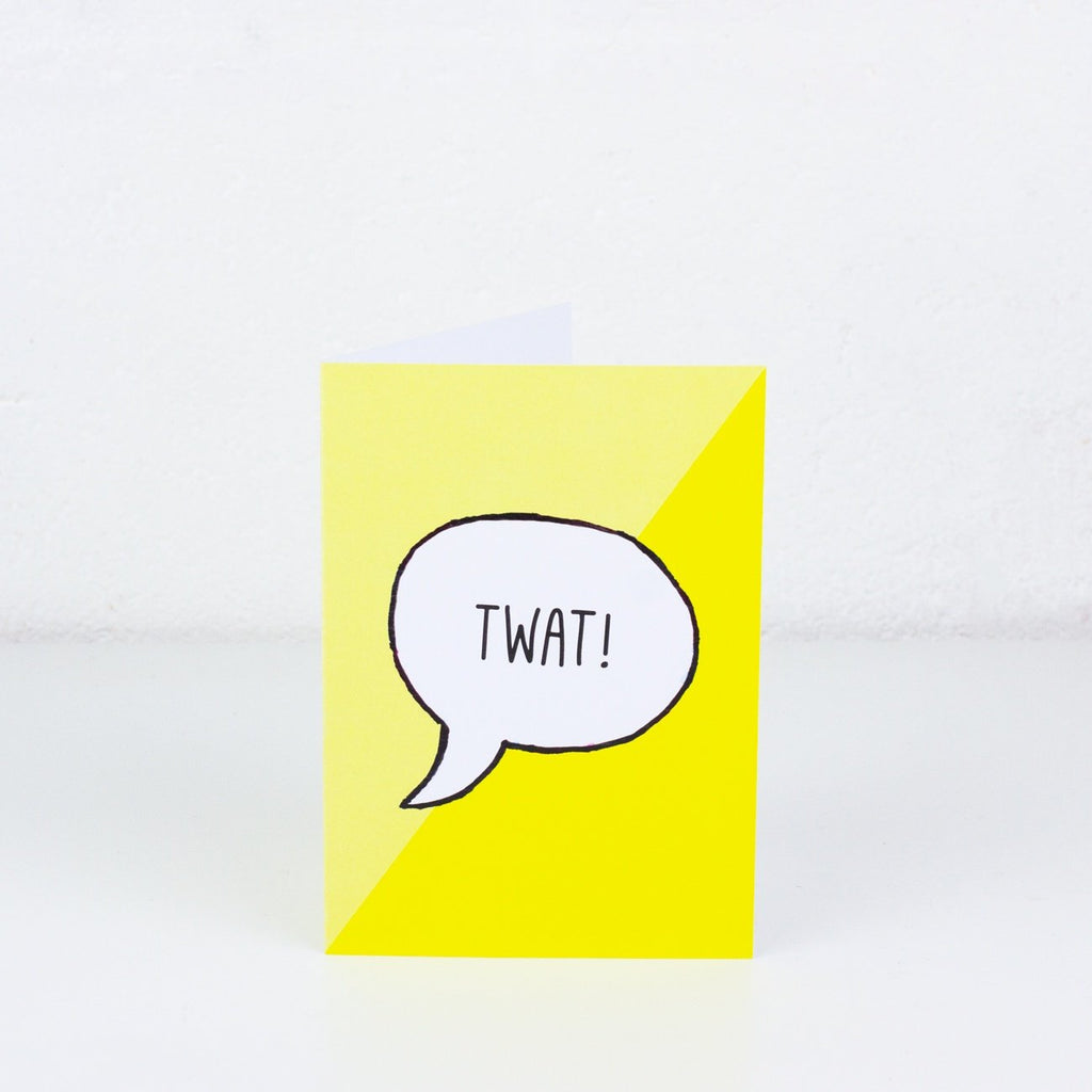 Twat Greeting Card - To Home From London