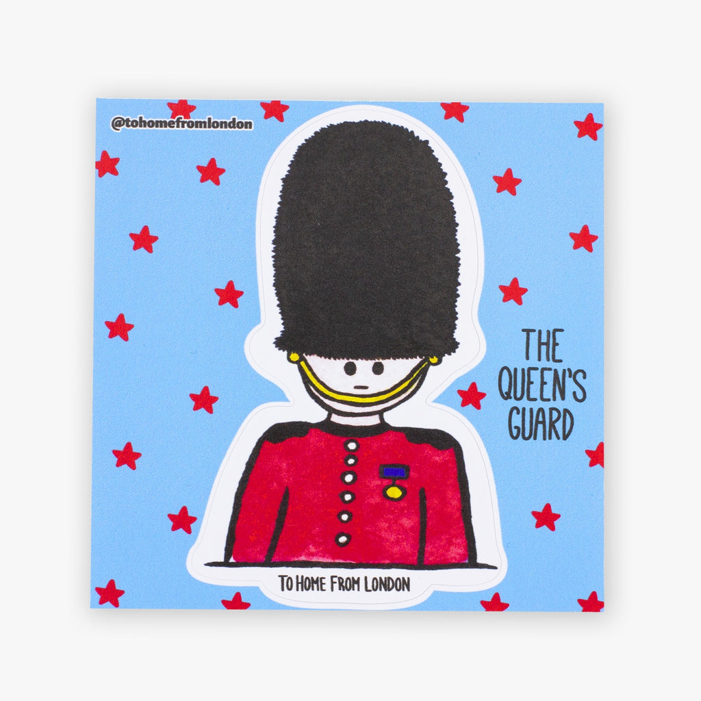 Queen's Guard Sticker - To Home From London