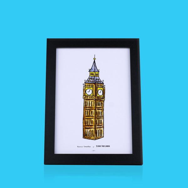 Big Ben Print - To Home From London