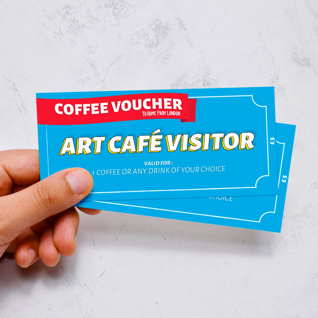 Art Café Visitor - To Home From London