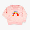 Kids London Rainbow Sweatshirt Pink - To Home From London
