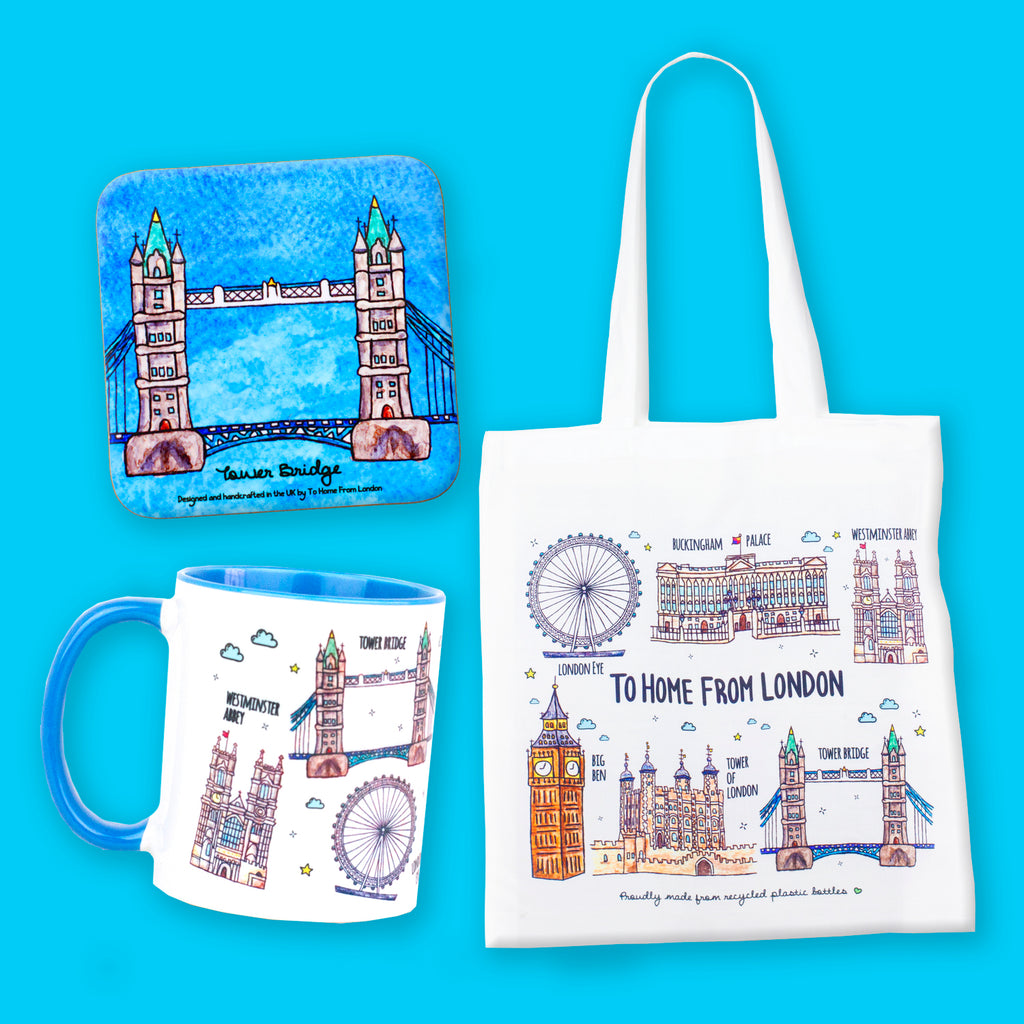 London Landmarks Gift Box - To Home From London